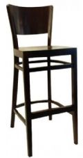 Burbank Wooden High Stool